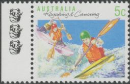 AUSTRALIA Reprint SG1172 5c Kayaking and Canoeing - 3 Koalas